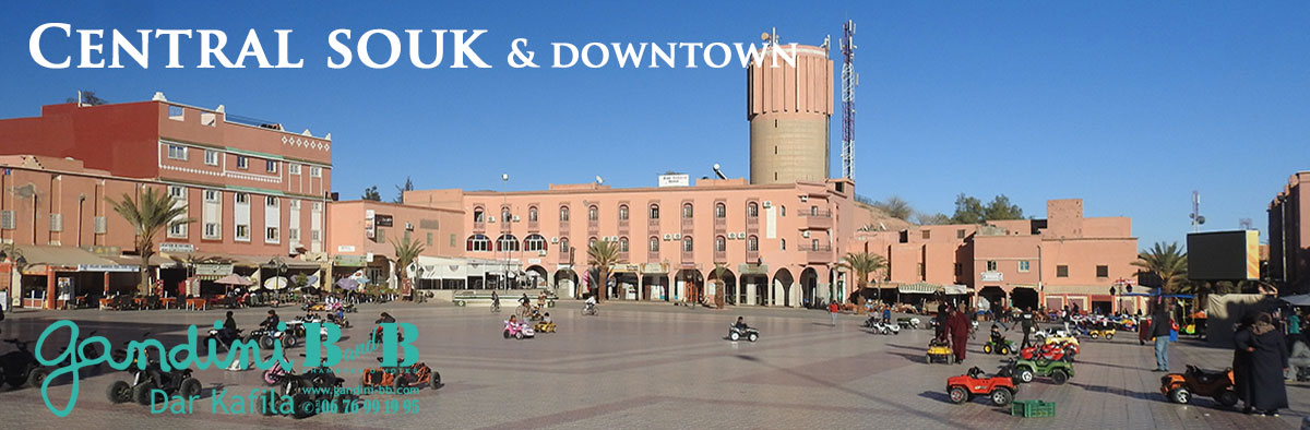02 - Central souk and downtown
